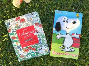 #Win it: Snoopy Plush Book and Peanuts Themed Adult Coloring Book #PeanutsAmbassador