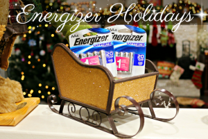 Power Up the Magic of the Holidays with Energizer #StillGoing
