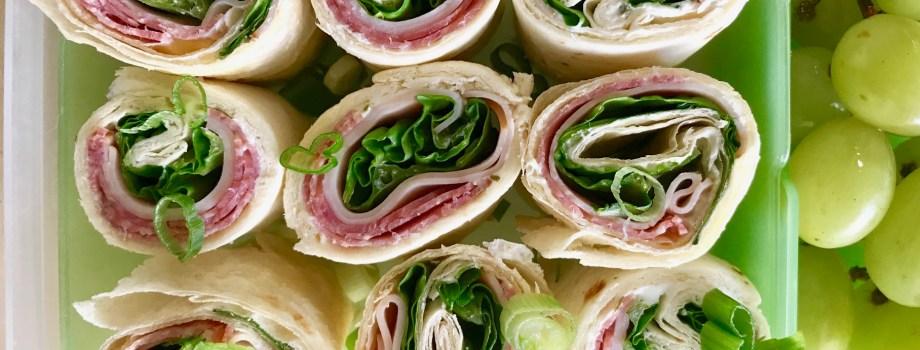 Sandwich Roll ups | Easy Lunch Recipe