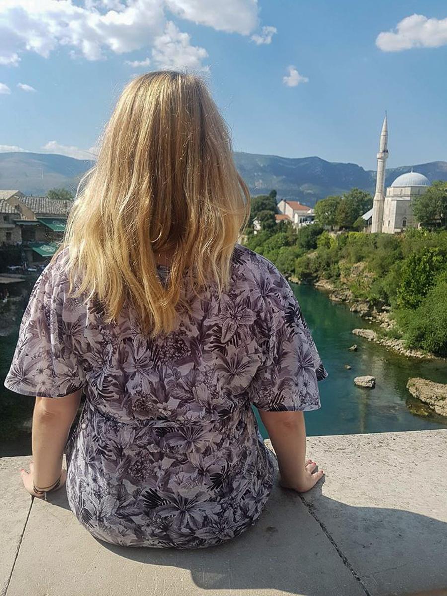 A view in Mostar Bosnia Herzegovina