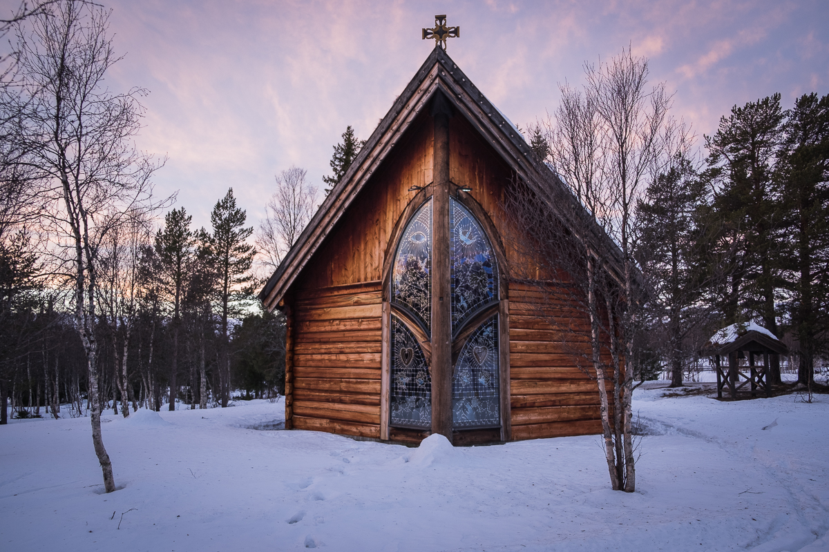 The light chapel at Beitostølen, Norway