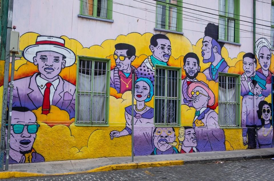 Valparaíso – en overflod av farger