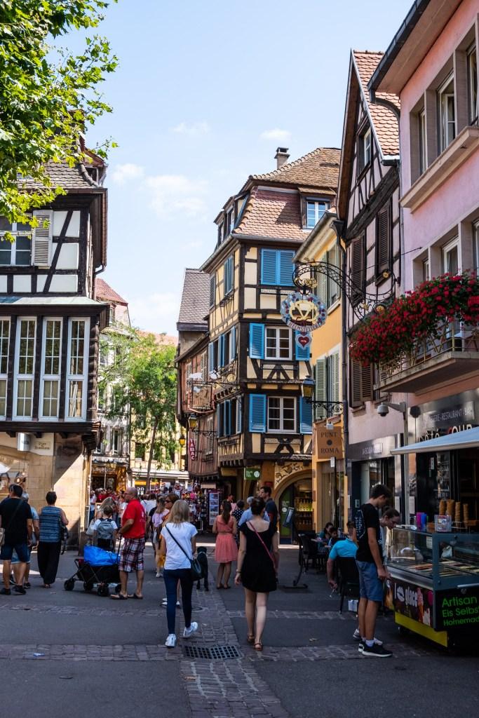 Colmar France Alsace couple travel