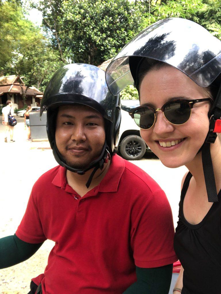 Chiang Mai, Thailand, Asia, travel, motorbike