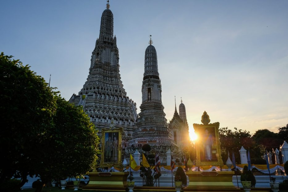 Thailand, Bangkok, templer, gull, Buddha, reise