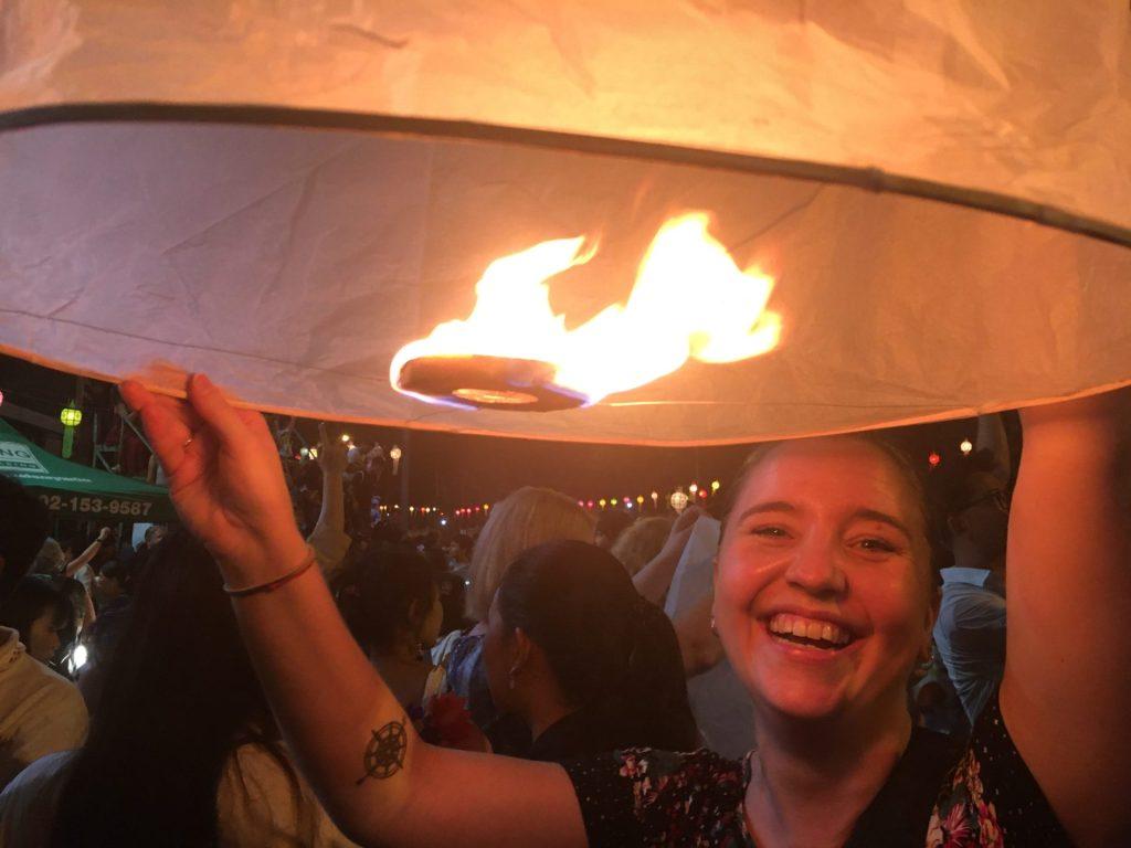 Yee Peng, lantern festival, Chiang Mai,  Thailand