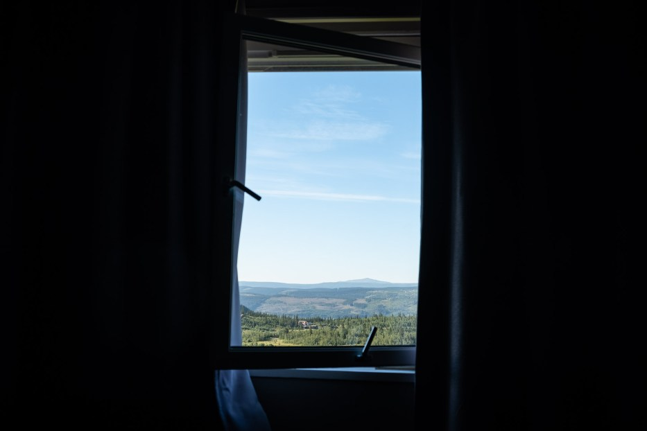 window, view, nature, Norway