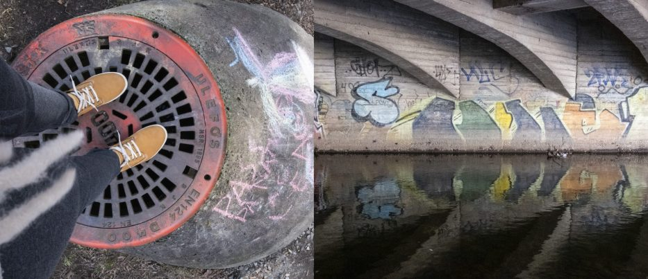 Colourful images taken along Akerselva in Oslo Norway