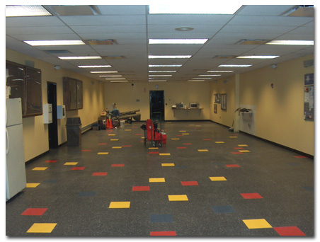 VCT or Sheet Vinyl  DeSitter Commercial Flooring