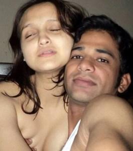 Desi Indian Couple hot selfie