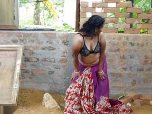 Desi Aunty big boobs pic