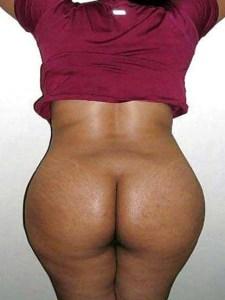 Desi Aunty big brown ass nude
