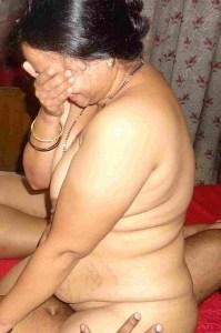shy chubby indian milf nude image