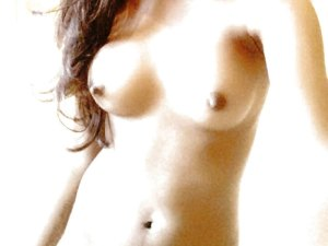 Naked round desi indian nipple