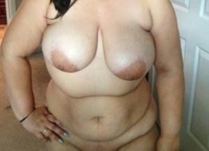Fat aunty boobs photo