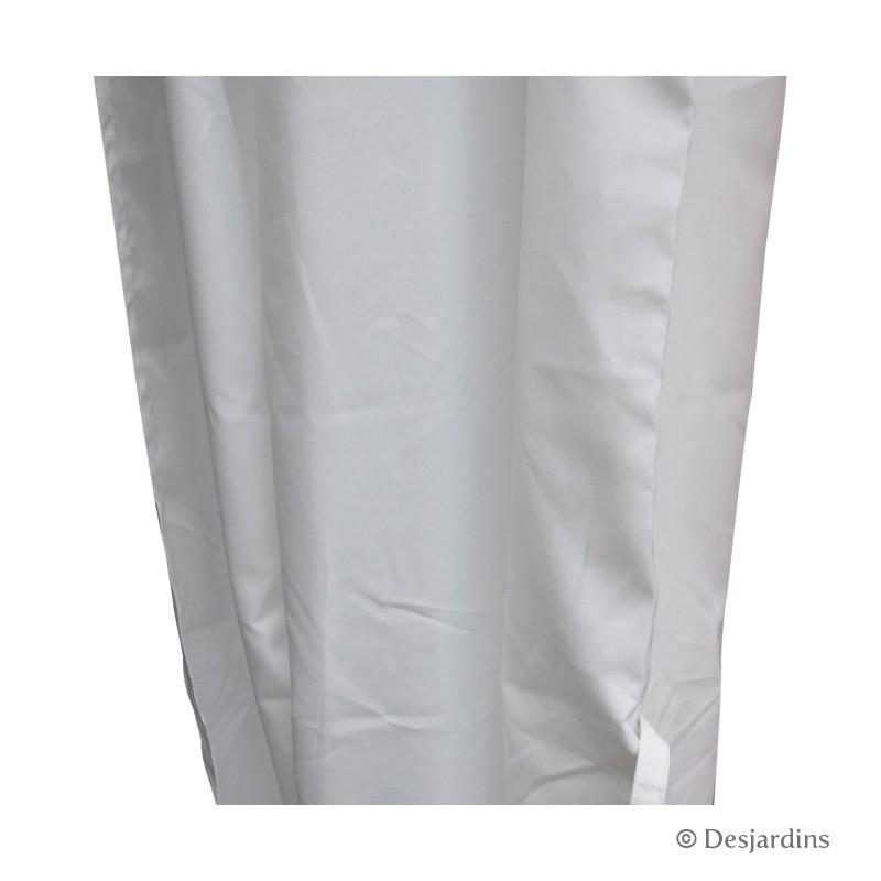 rideau de rechange pour tonnelle blanc x4 desjardins