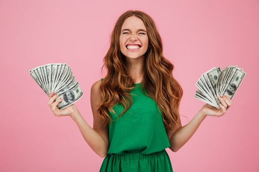オンラインカジノの賞金額の大きさ