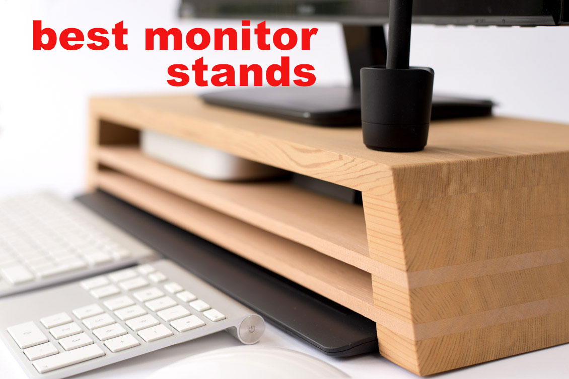Best Modern Computer Monitor Stands with USB Storage and