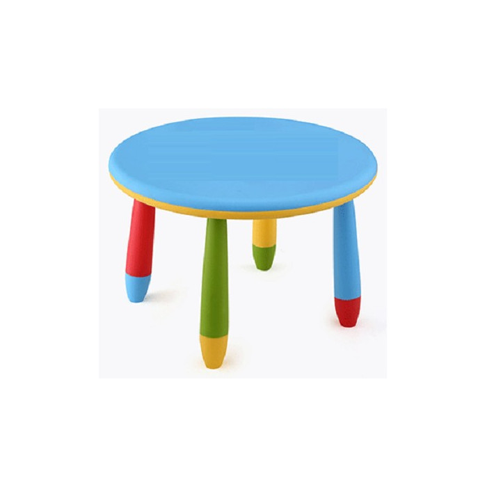 Plastic round childrens table