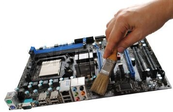 How To Fully Clean A Desktop PC Motherboard Isopropyl