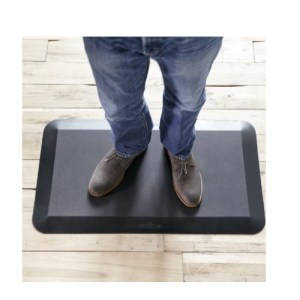 Varidesk standing desk anti fatigue mat