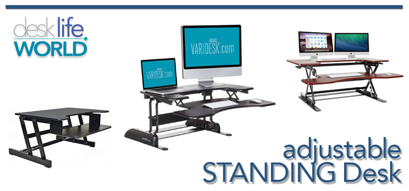 Adjustable Standing Desk Reviews Desk Life World