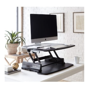 Varidesk reviews adjustable standing desk Pro 30