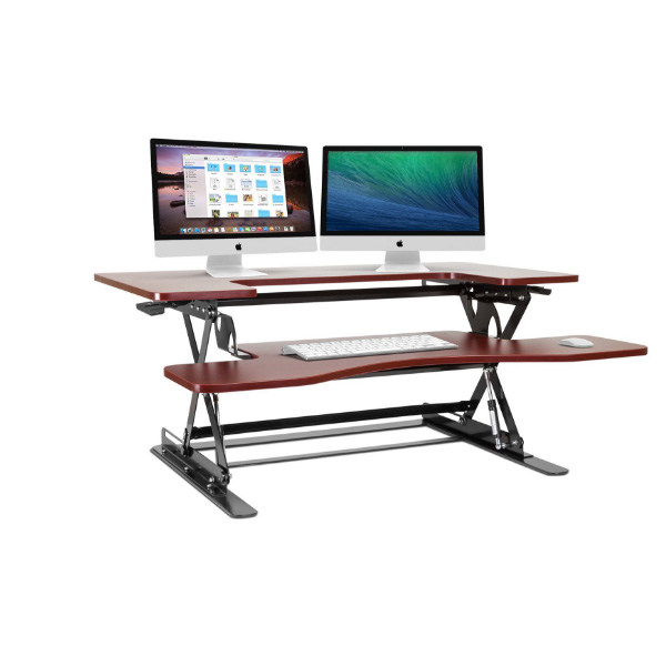 halter adjustable standing desk the perfect varidesk alternative to sit or stand while working standing desk converter - Standing Desk Converter