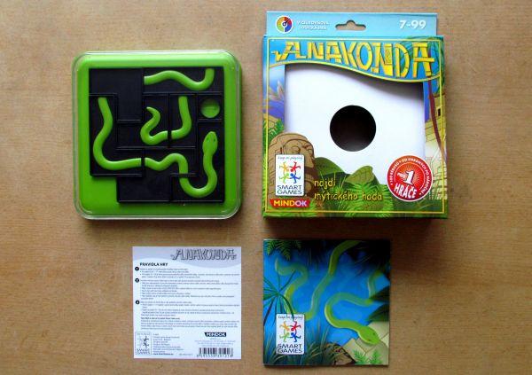 Smart Games: Anakonda - balení