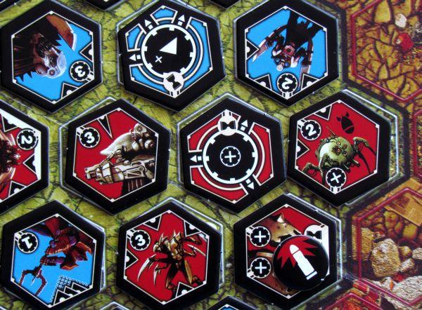 Neuroshima Hex - rozehraná hra