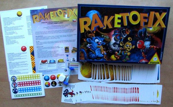 Raketofix - balení