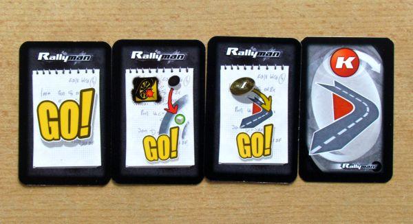 Rallyman - karty