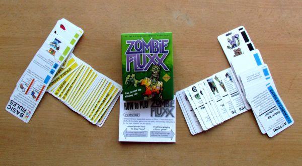 Zombie Fluxx - balení