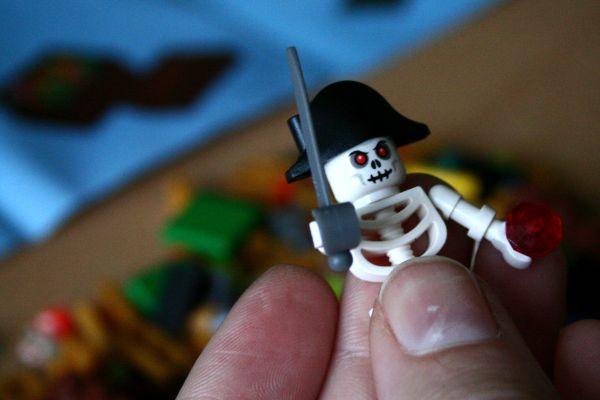 Pirate Code - kostlivec