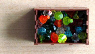 Pirate Code - truhla plná diamantů