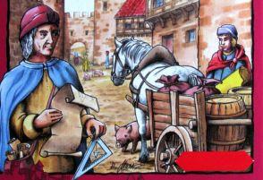 Carcassonne: Kupci a stavitelé