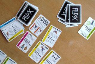 Zombie Fluxx - rozehraná hra