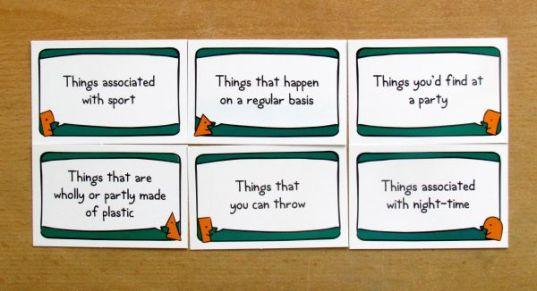 Last Word Game - karty