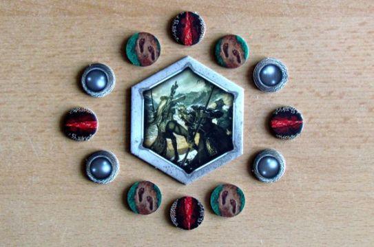 Pán prstenů: Karetní hra - žetony
