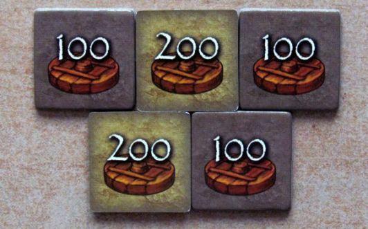 Doba kamenná: Stylově k cíli - žetony