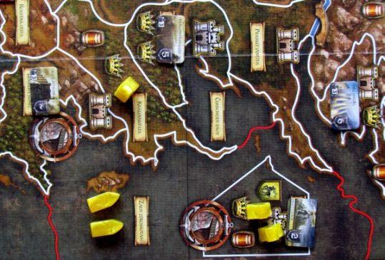 Hra o Trůny - připravená hra