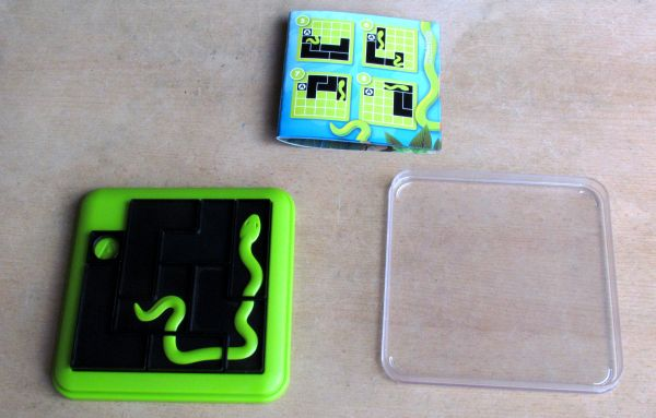 Smart Games: Anakonda - vyřešený hlavolam
