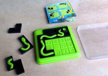 Smart Games: Anakonda - průběh řešení