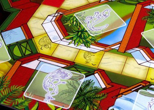 Panika v ZOO - detail herního plánu