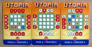 Utopia - karty zadání