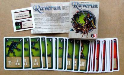 Raverun - balení
