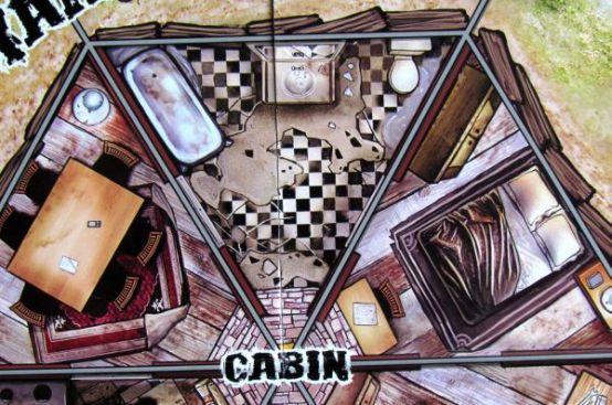 Dead Panic - detail herního plánu
