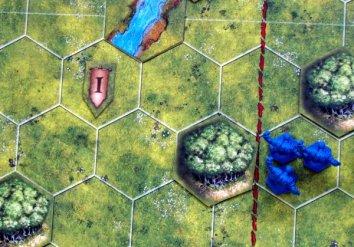 Battlelore: Second Edition - připravená hra