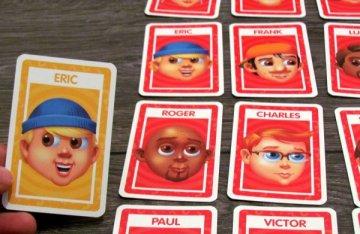 Shuffle: Hádej kdo - připravená hra