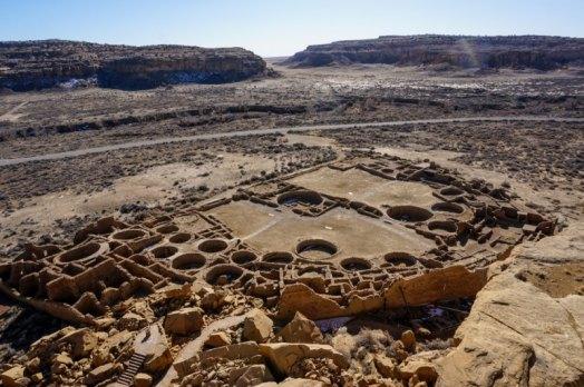"""أشهر 10 مدن أشباح """"مهجورة"""" في العالم, وادي شاكو (Chaco Canyon) – نيو ميكسيكو (New Mexico)"""